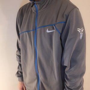 Kobe Bryant Nike jacket ( Gray & Blue )
